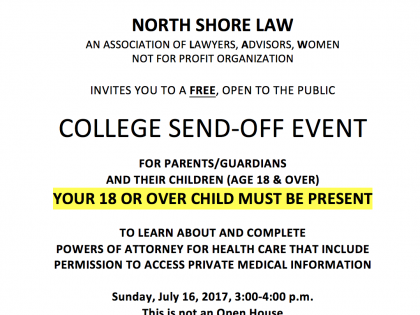 FREE NSL EVENT THIS SUNDAY, JULY 16